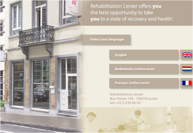 Rehabilitation center is a private practice situated in the centre of Brussels and grants 3 services; physiotherapy, osteopathy and endermologie.